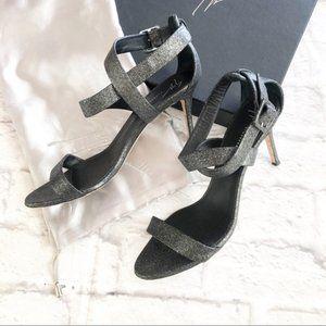 Giuseppe Zanotti Coline 80 glitter heels 40